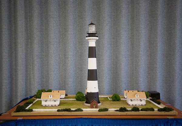 What Was Once -- Can Be Again!<br /> Detailed and Beautifully Crafted Diorama of planned reconstruction of Keeper's Cottages at the Cape Canaveral Lighthouse Site