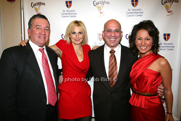 Dr. Alfred E. Smith 4th, Marisa Acocella Marchetto, Alina Cho, Henry Amoarosa<br /> photo by R.Cole for   Rob Rich © 2009 robwayne1@aol.com 516-676-3939