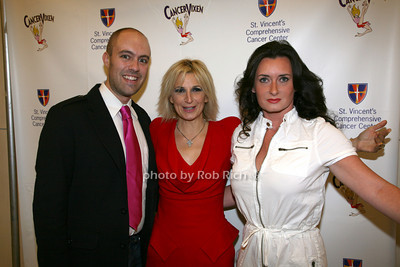 Tom Lampson, Marisa Acocella Marchetto, Estelle Leeds photo by R.Cole for   Rob Rich © 2009 robwayne1@aol.com 516-676-3939