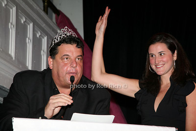 Steve Schirripa, Lydia Wickliffe Fenet photo by R.Cole for   Rob Rich © 2009 robwayne1@aol.com 516-676-3939