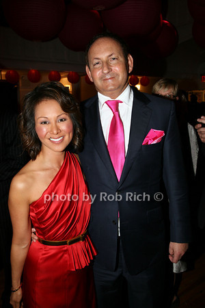 Alina Cho,  John Demsey photo by R.Cole for   Rob Rich © 2009 robwayne1@aol.com 516-676-3939