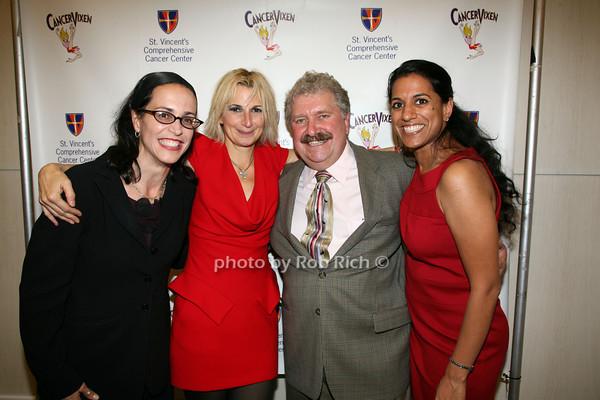 Dr. Stephanie Beunik, Marisa Acocella Marchetto, Dr. Christoper Mills, Dr. Preya Ananthakrishnan photo by R.Cole for   Rob Rich © 2009 robwayne1@aol.com 516-676-3939
