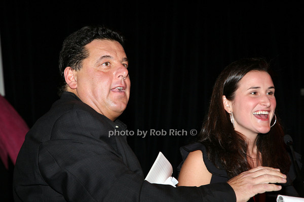 Steve Schirripa, Lydia Wickliffe Fenet