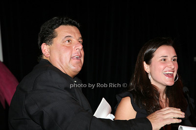 Steve Schirripa, Lydia Wickliffe Fenet photo by R.Cole for   Rob Rich © 2009 robwayne1@aol.com 516-676-3939