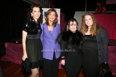 Fe Fendi, Violetta Acocella, Dr Linda Stone, Vanna Stone photo by R.Cole for   Rob Rich © 2009 robwayne1@aol.com 516-676-3939