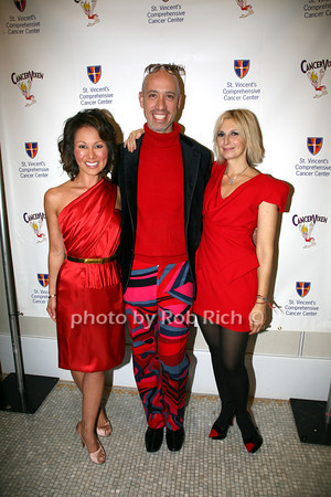 Alina Cho, Robert Verdi, Marisa Acocella Marchetto