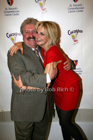 Dr. Christopher Mills, Marisa Acocella Marchetto<br /> photo by R.Cole for   Rob Rich © 2009 robwayne1@aol.com 516-676-3939