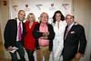 Patrick Clayton, Marisa Acocella Marchetto, Silvano Marchetto, Estelle Leeds, Tom Lampson <br /> photo by R.Cole for   Rob Rich © 2009 robwayne1@aol.com 516-676-3939