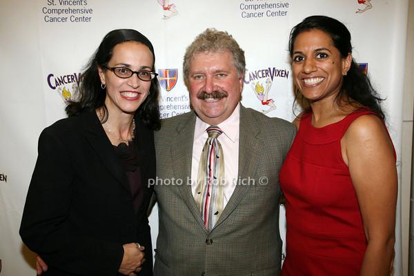 Dr. Stephanie Beunik, Dr. Christoper Mills, Dr. Preya Ananthakrishnan photo by R.Cole for   Rob Rich © 2009 robwayne1@aol.com 516-676-3939