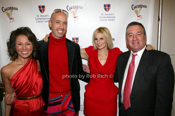 Alina Cho, Robert Verdi, Marisa Acocella Marchetto, Alfred E. Smith 4th photo by R.Cole for   Rob Rich © 2009 robwayne1@aol.com 516-676-3939