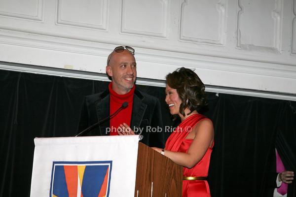 Robert Verdi, Alina Cho photo by R.Cole for   Rob Rich © 2009 robwayne1@aol.com 516-676-3939