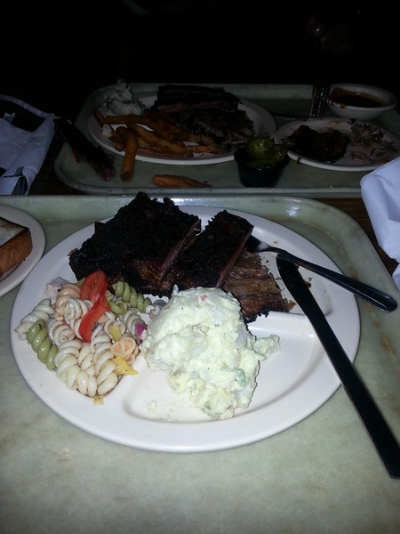 big al's bbq in Dallas - 7/17/14