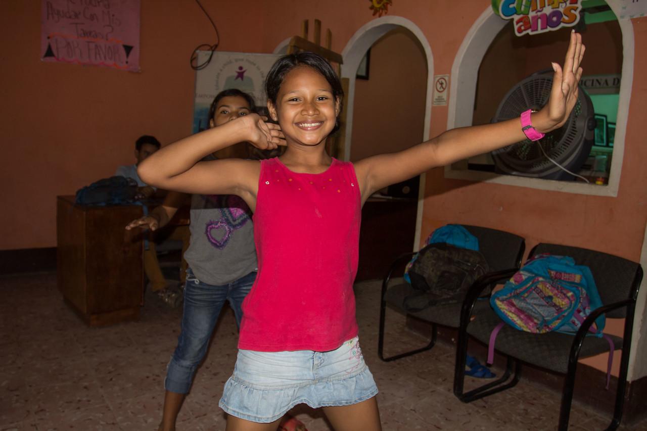She loves dance