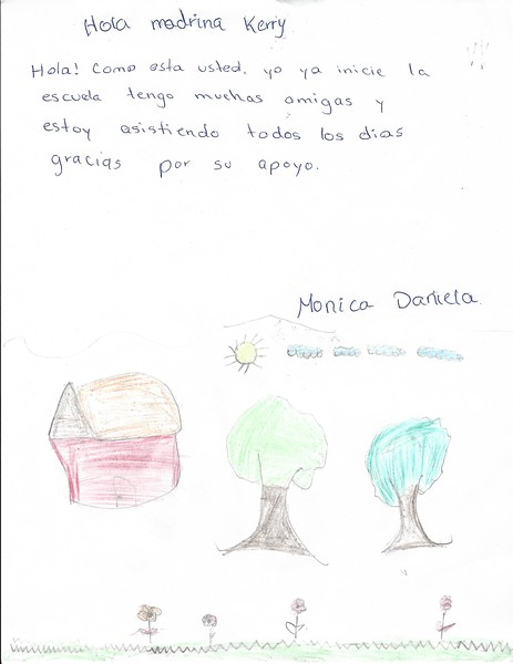 Letter by Monica Daniela April 2015