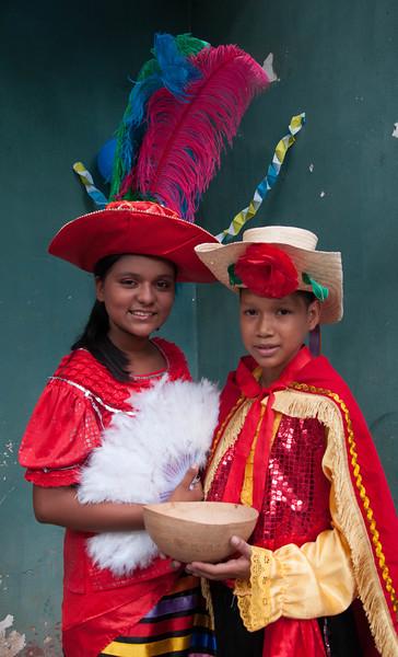 Maria Celeste with her dance partner, Wilber Ernesto