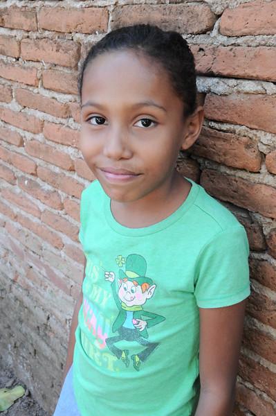 Yolanda Auxiliadora 9 years old, 3rd grade