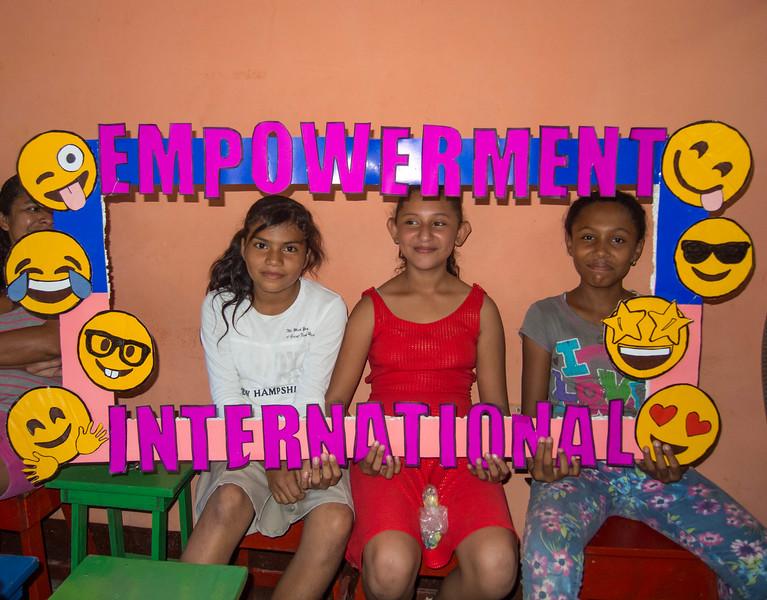 Yolanda and her friends