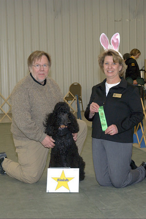 Ripley and Jerry -  Rally Novice Title