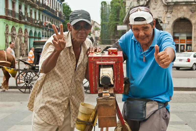 Photographers, Havana, Cuba - 12x18, $145