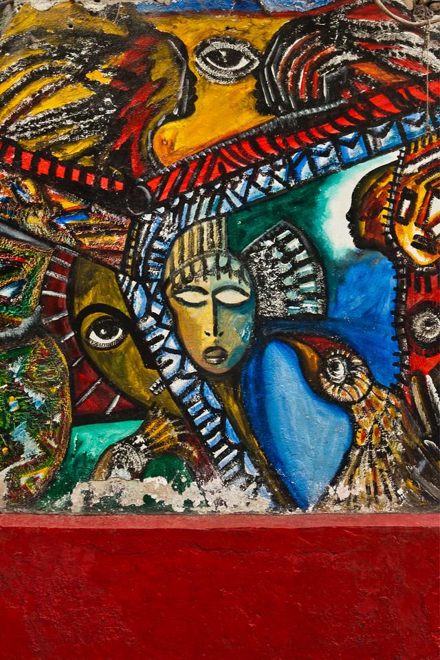 Wall Art, Calle Jon de Hamel, Havana, Cuba 2011 - 12x18, $145