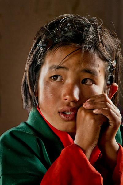Student, Chuzomsa, Bhutan - 12x18, $145