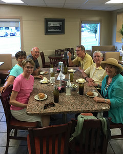 Some of us knew how to end the cruise...at Bluebonnet Cafe in Marble Falls!
