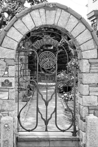 Garden Gate - Provincetown,Mass. - July 8,2006