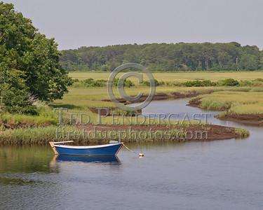 Boat In River off Rt.28- Harwich,Mass. - July 3,2006