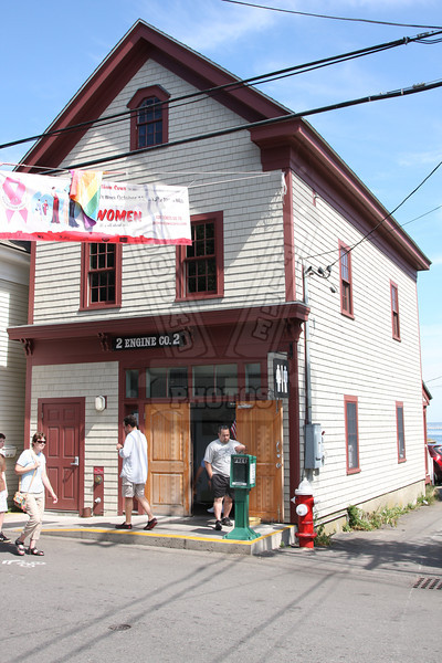 Former Provincetown, Ma. Station 2. Now a public restroom