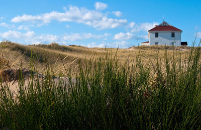 at Race Point Provincetown National Seashore Cape Cod (House -foreground - study)
