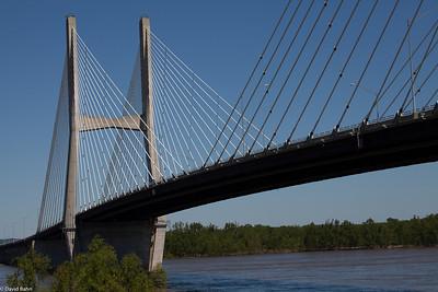 Cape Girardeau Mississippi River Bridge & SEMO River Campus