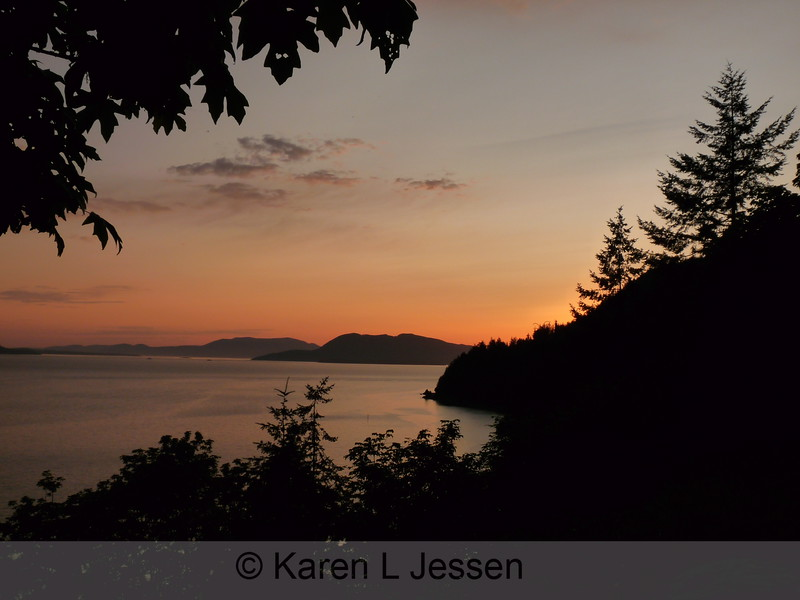 Chuckanut Sunset