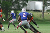Mike Thomas #2 gets yards after the catch versus Hargrave Military Academy in 2011.