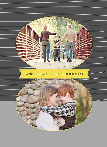 Christmas Time 5x7 (2) Holiday Card Back