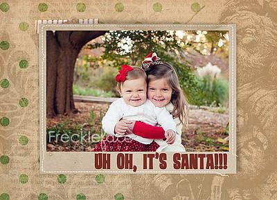 MLC Uh Oh It's Santa Front