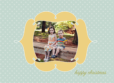 Happy and Merry Christmas 3 Front