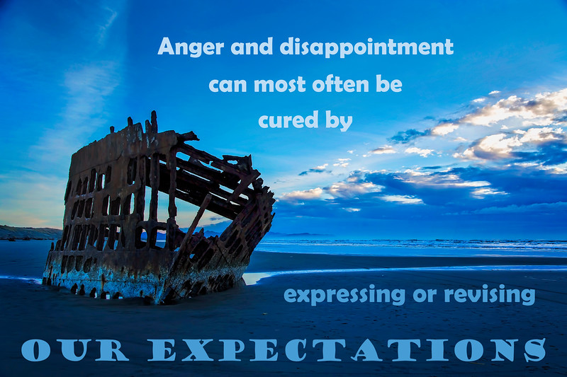 Expectations Can Shipwreck Our Lives