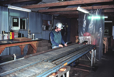 CORE PROCESSING, ELK RIDGE #1 WELL Southeast Utah Repository Siting Studies 1982(?)