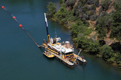 THE DREDGE CORRIN Iron Mountain Mine Sediment Removal Remedial Action Keswick Reservoir, Redding, California, 2010