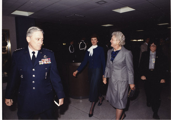 32_Escorting First Lady and Mrs Chain