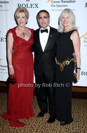 Patricia Kennedy, Allen Brill, guest<br /> photo by Rob Rich © 2009 robwayne1@aol.com 516-676-3939