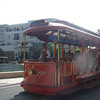 The little Trolley Car that takes you around the mall...super cute...