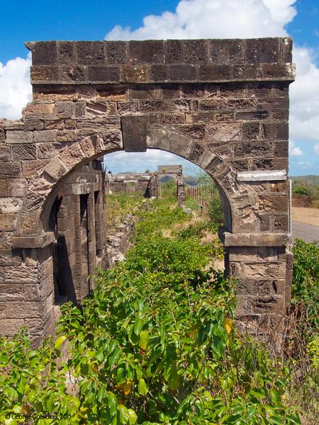 Garrison quarters, Antigua, Nelson's Harbor