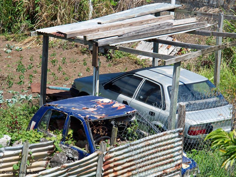 Rusting away in St Kitts