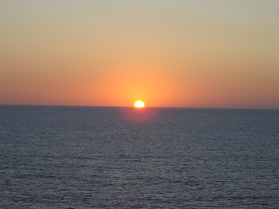 Caribbean Sunset  Watch, you\'ll see the Green Flash
