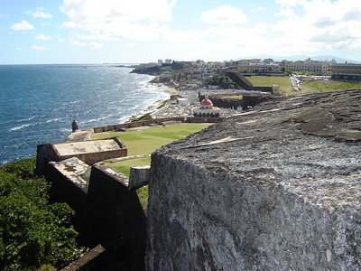 El Moro   San Juan Puerto Rico  The whole city of Old San Juan is built behind these massive walls