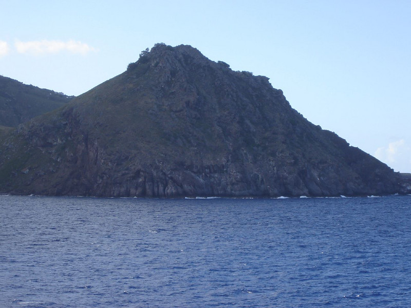 Caribbean Cruise <br /> Mounds of Volcanic rock.