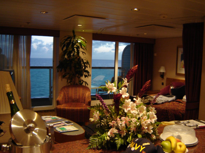 Caribbean Cruise <br /> Our Suite #1036 on board the Serenade of the Seas