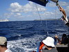 Sailing out to Buck Island to Snorkel <br /> What a beautiful day for a Sail