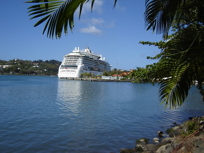Serenade of the Seas in St. Lucia